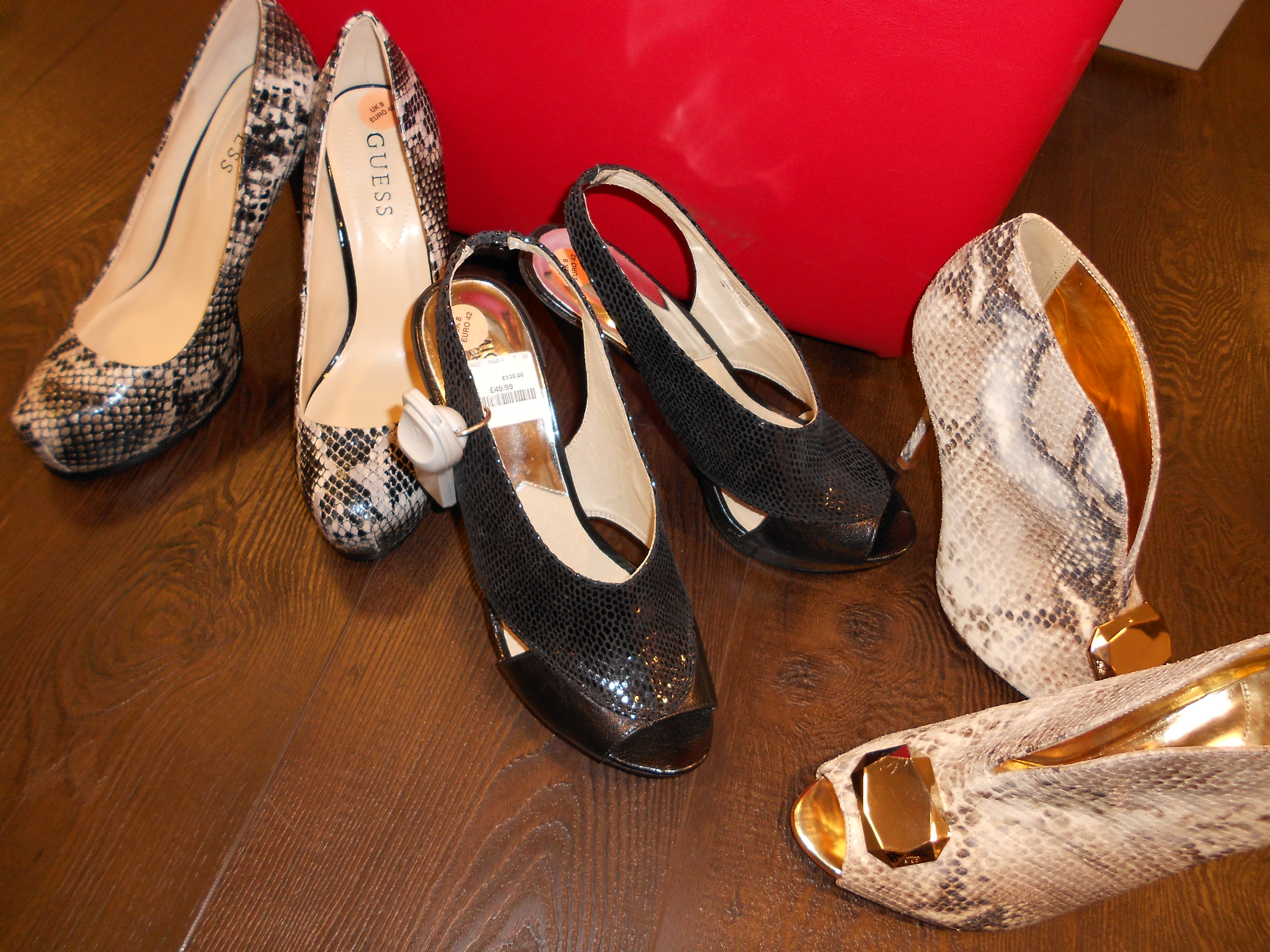 Revamped TK Maxx store: purchases and