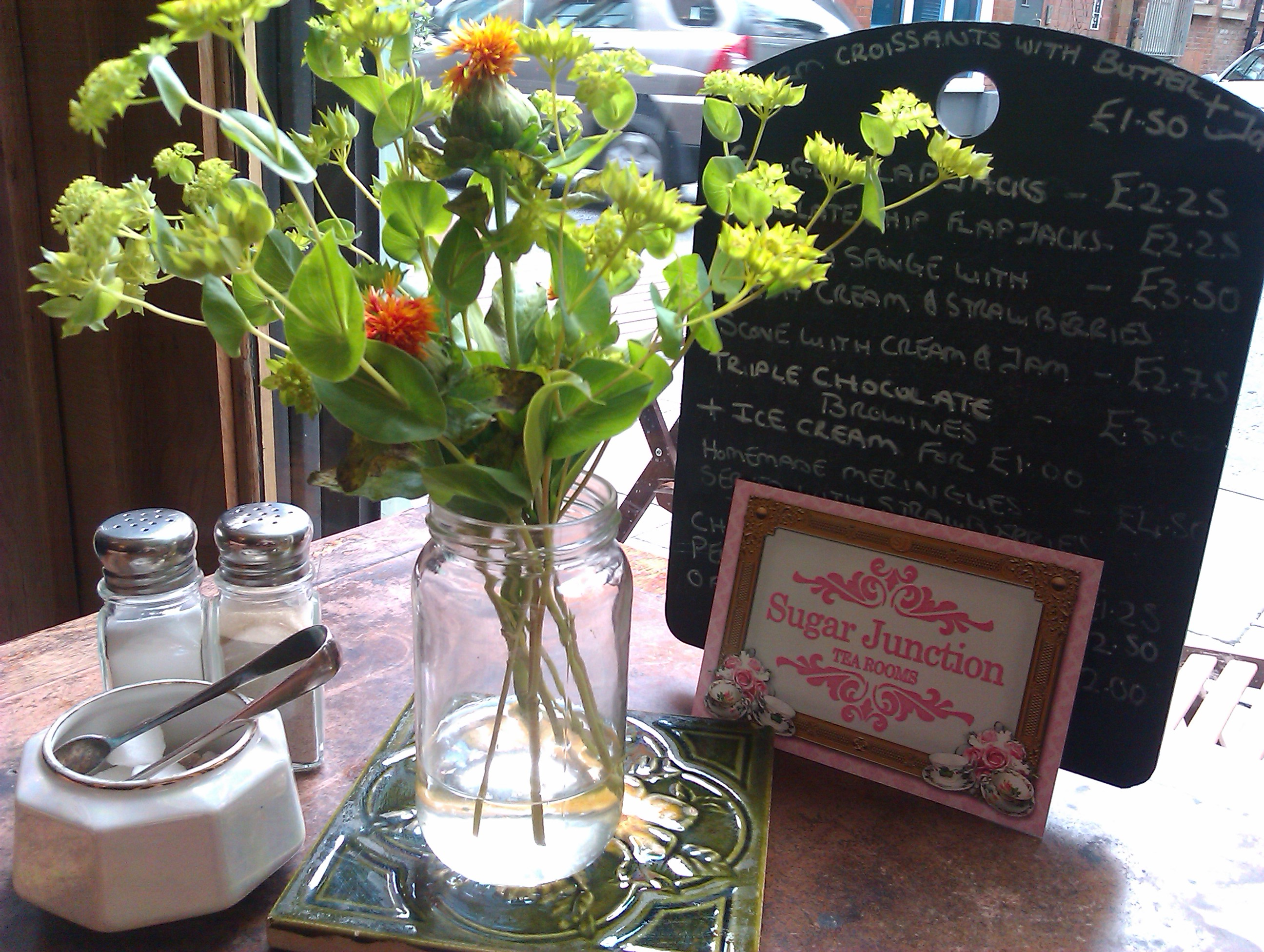 Victoria Rose Tea Rooms Menu