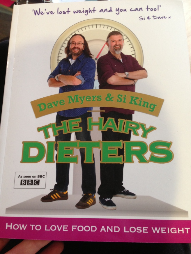 Hairy Dieters cookbook