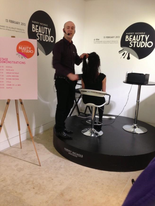 Hair demonstration