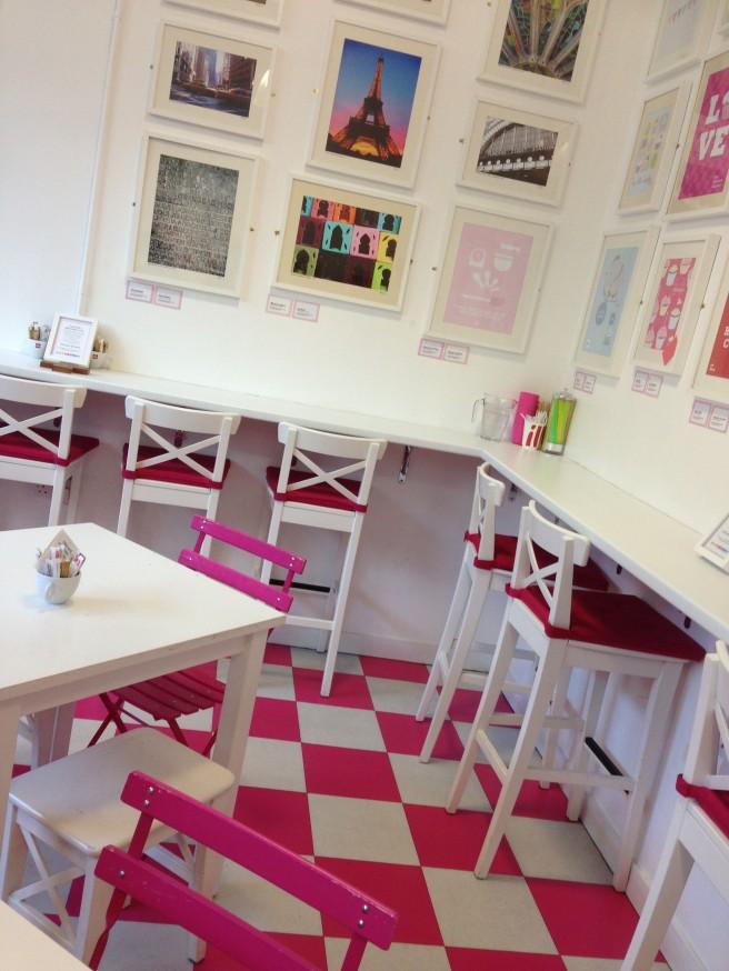 HLC cupcake shop