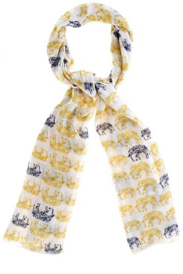 Elephant scarf
