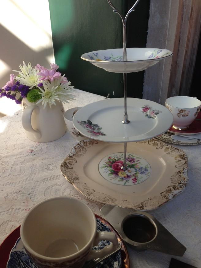 tea rooms in London