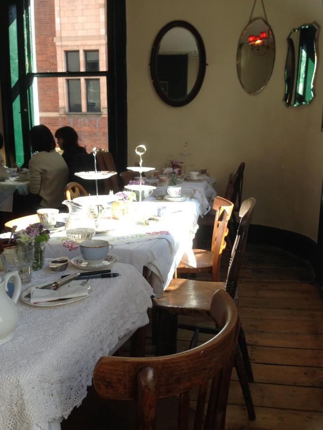 Secret tea room