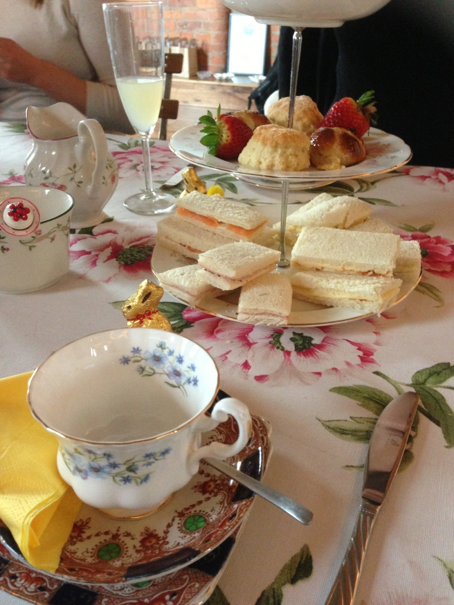 Easter tea and cakes