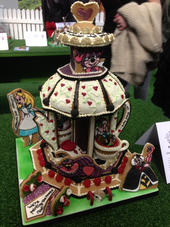 Gingerbread Alice in Wonderland