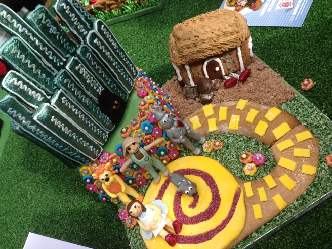 Gingerbread Wizard of Oz