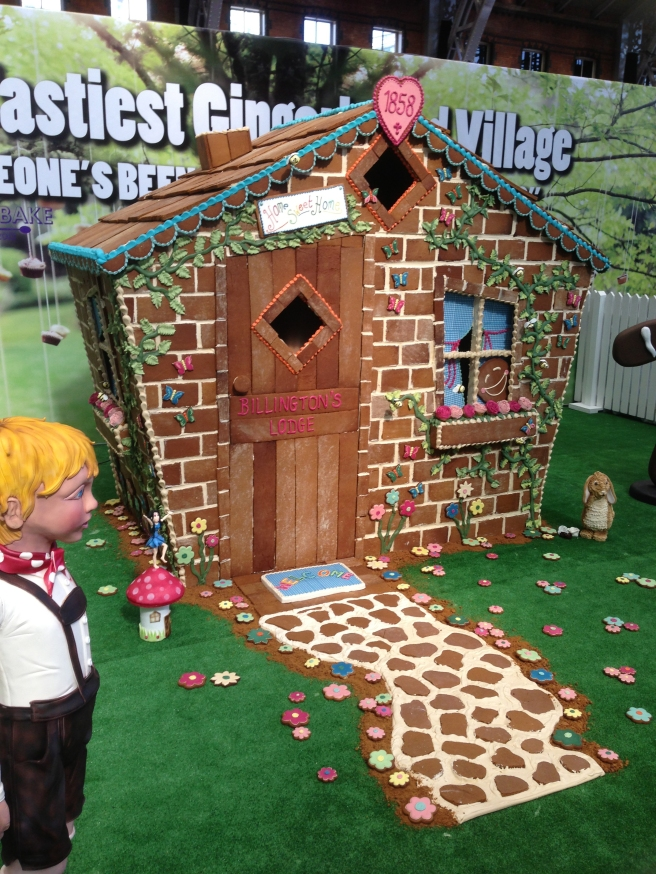 Gingerbread village