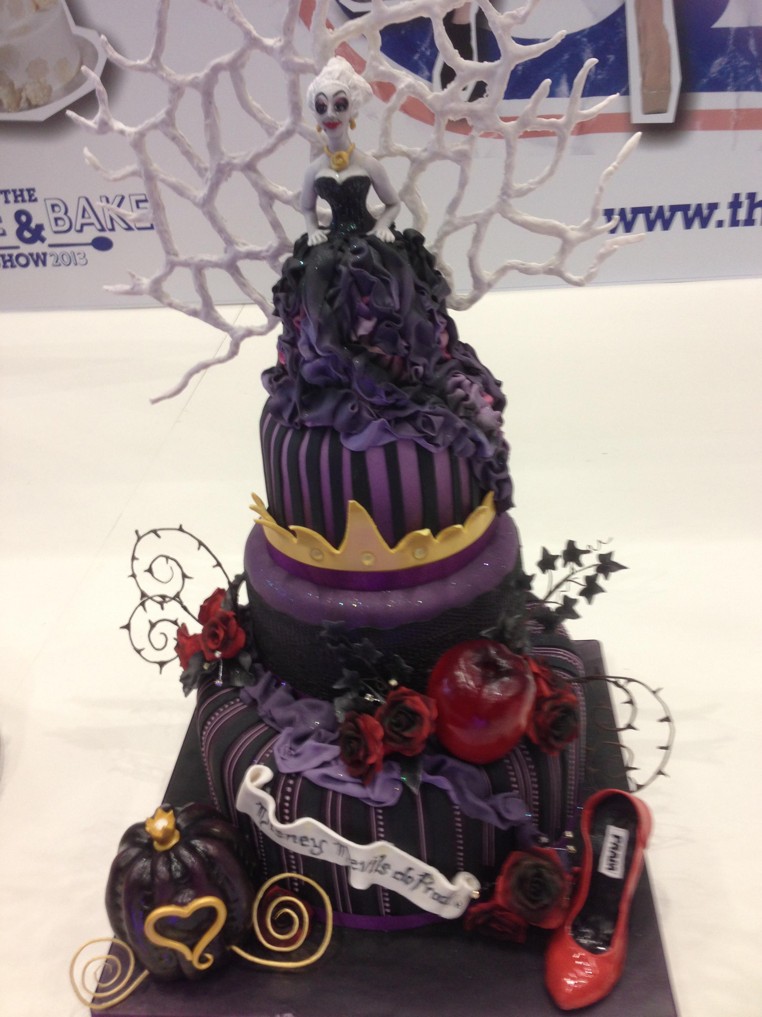 Disney Villains Birthday Cake Image Inspiration of Cake and