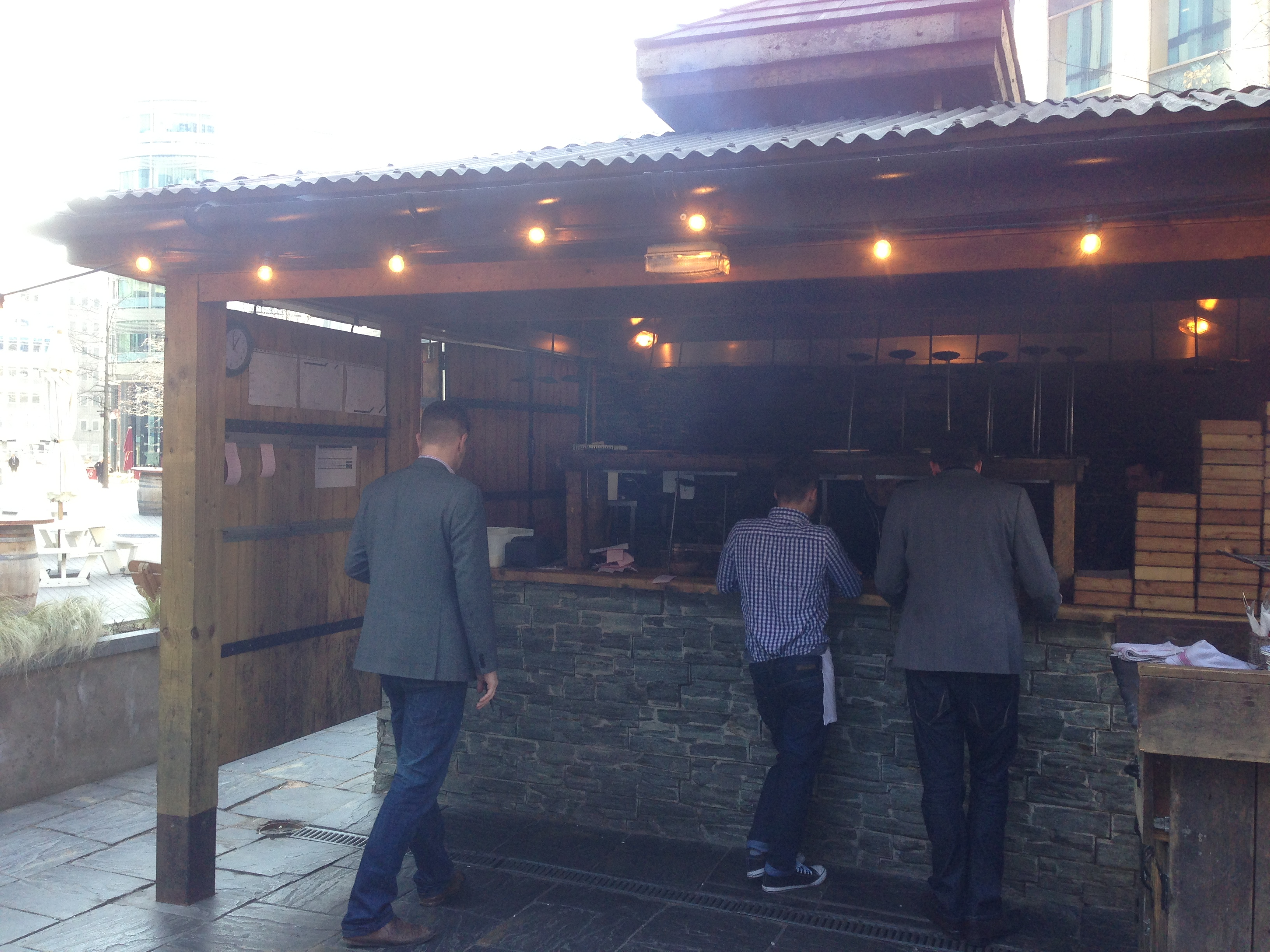 Outdoor grill Manchester Oast House