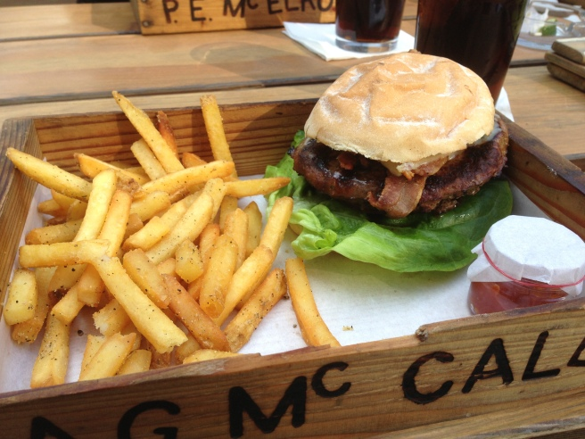 BBQ burger Oast House