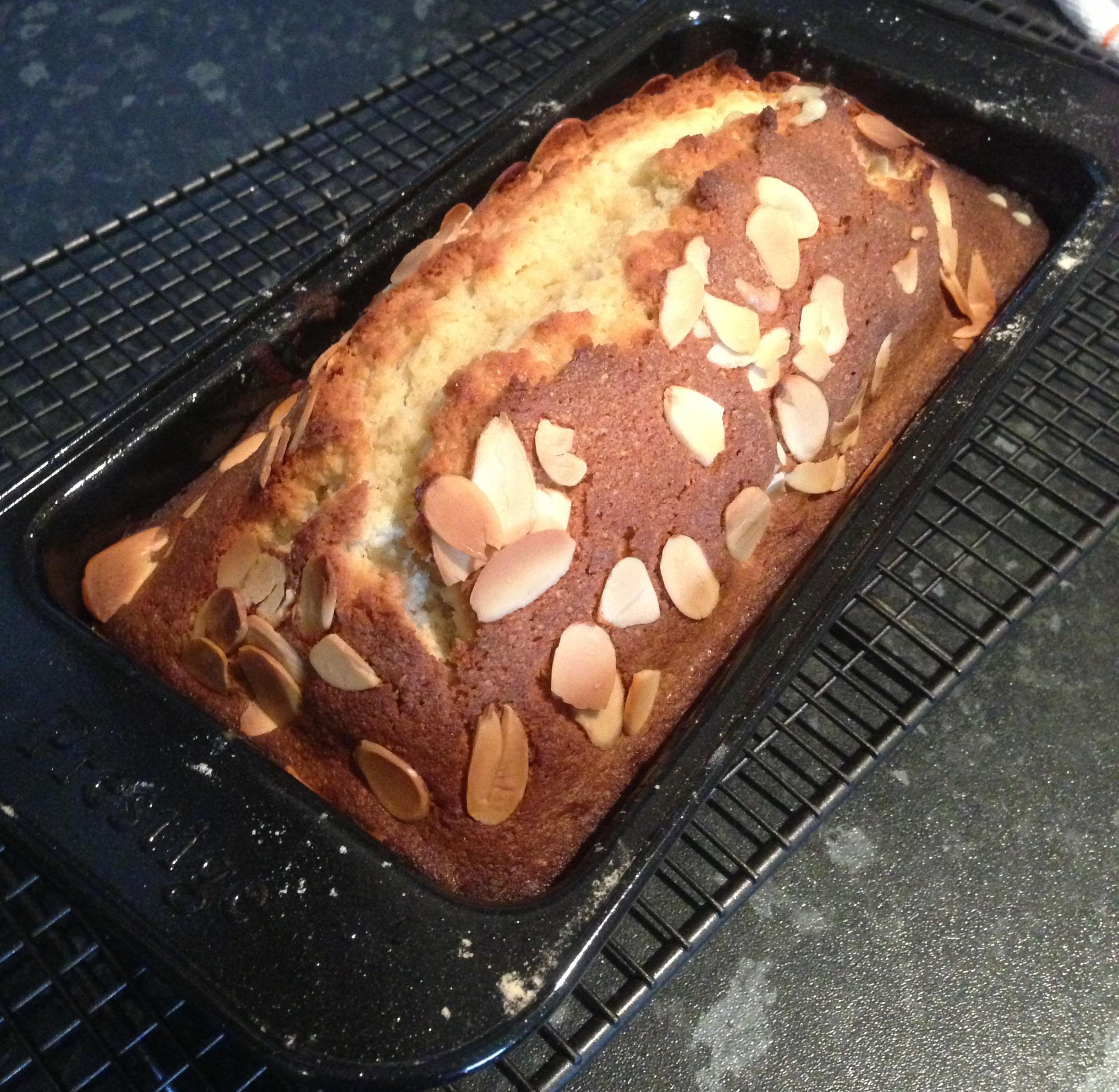 Orange almond loaf