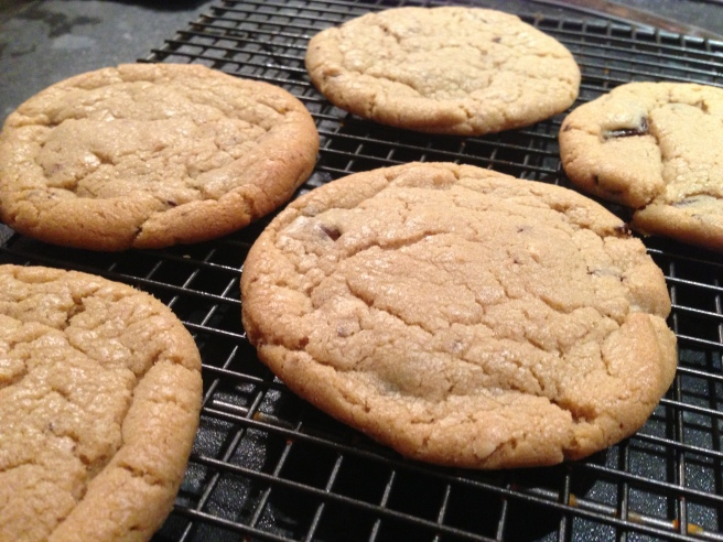 Peanut butter chewy cookies