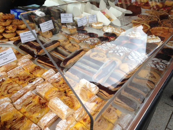 Pastry stall