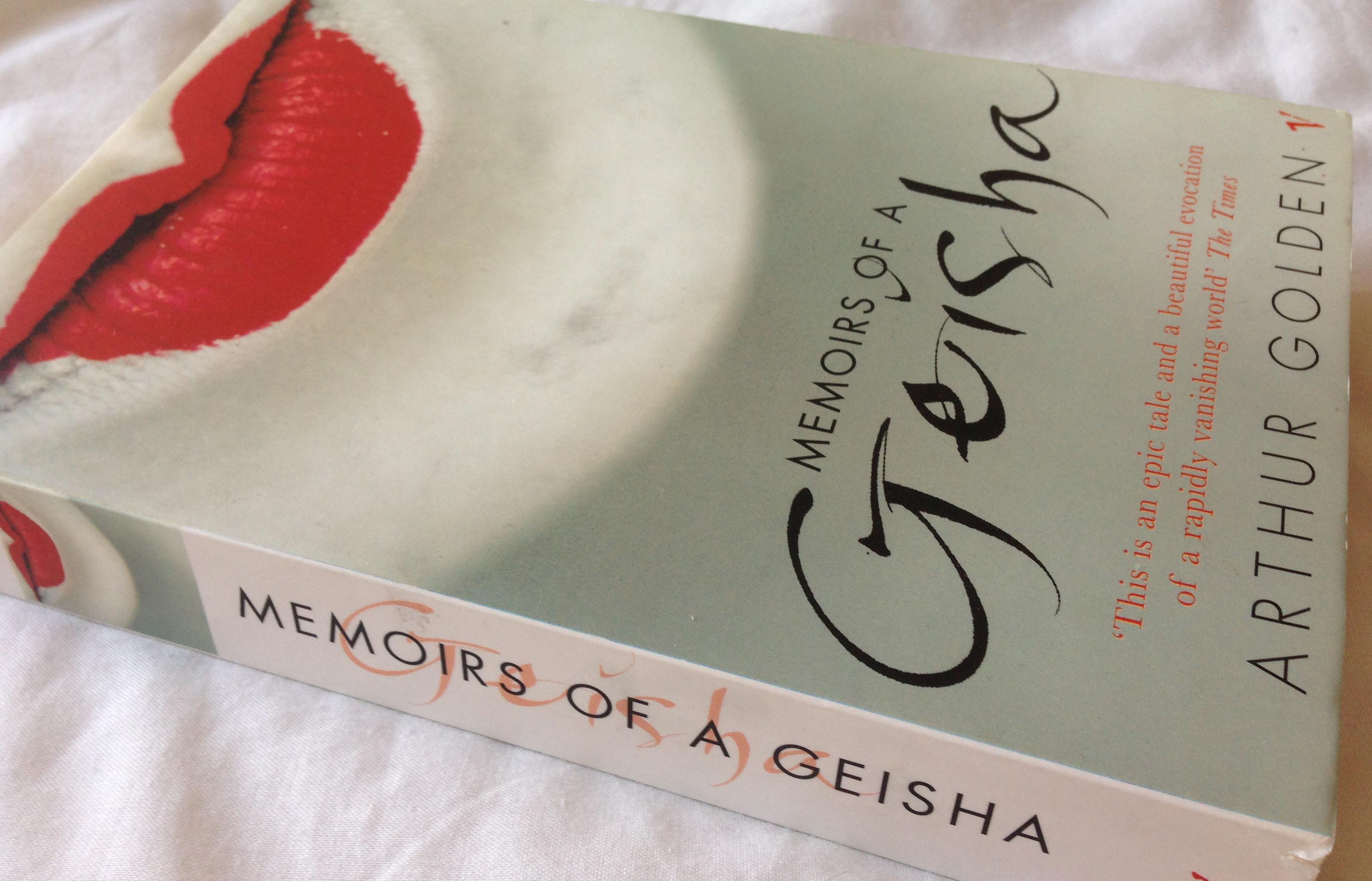Memoir of geisha book