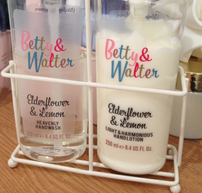 Betty and Walter hand wash