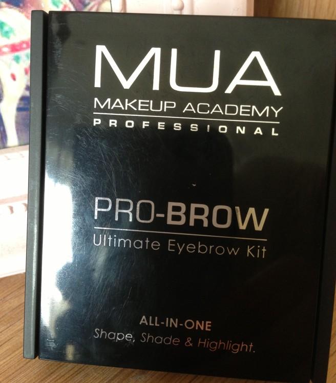 MUA pro brow kit