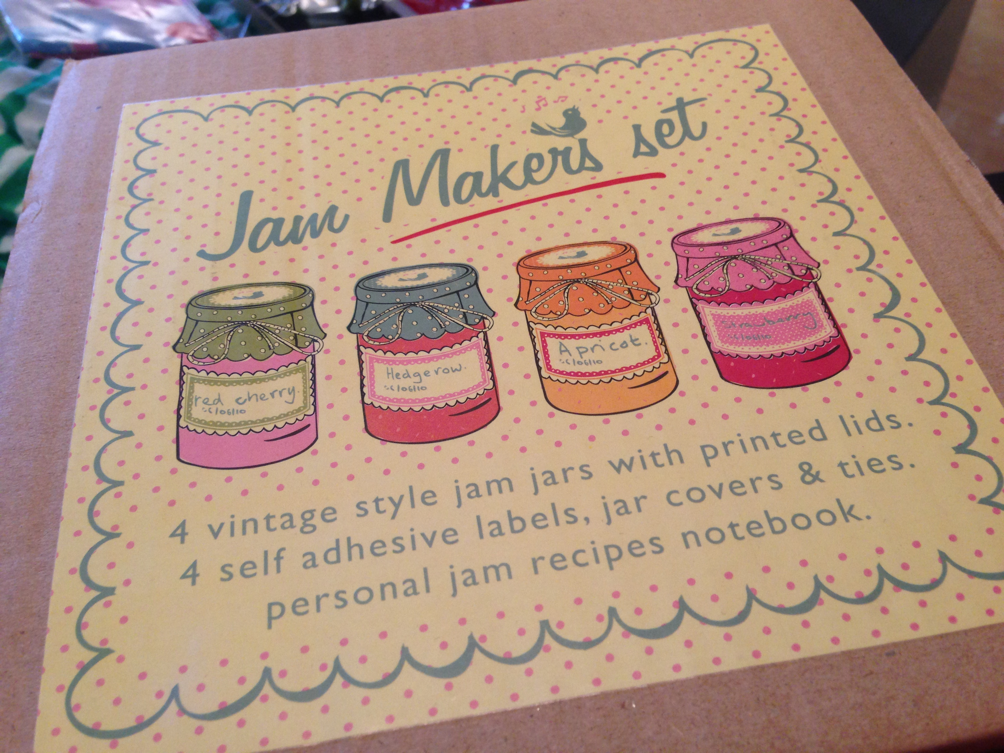 Jam making kit
