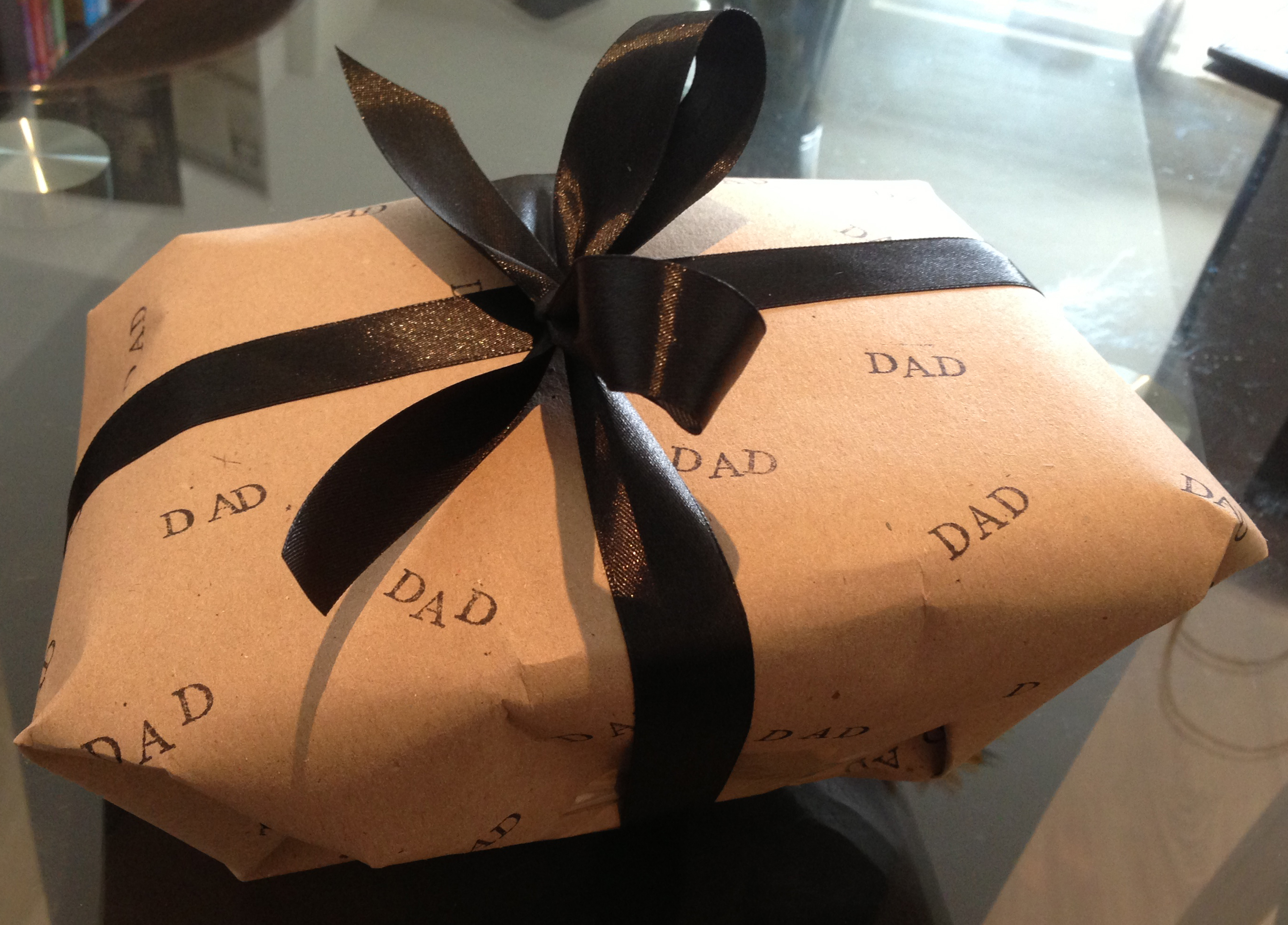 Creative Gift Wrapping Father S Day English Rose From Manchester S Blog
