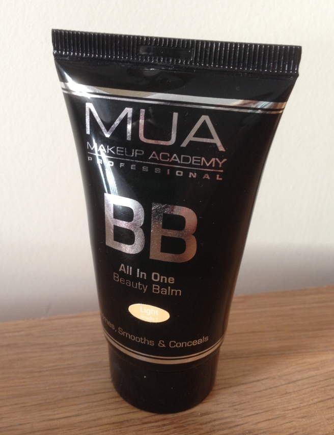 MUA BB cream