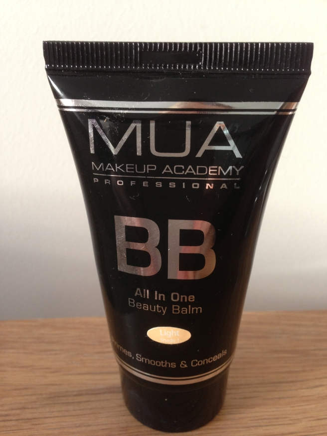 MUA BB cream light