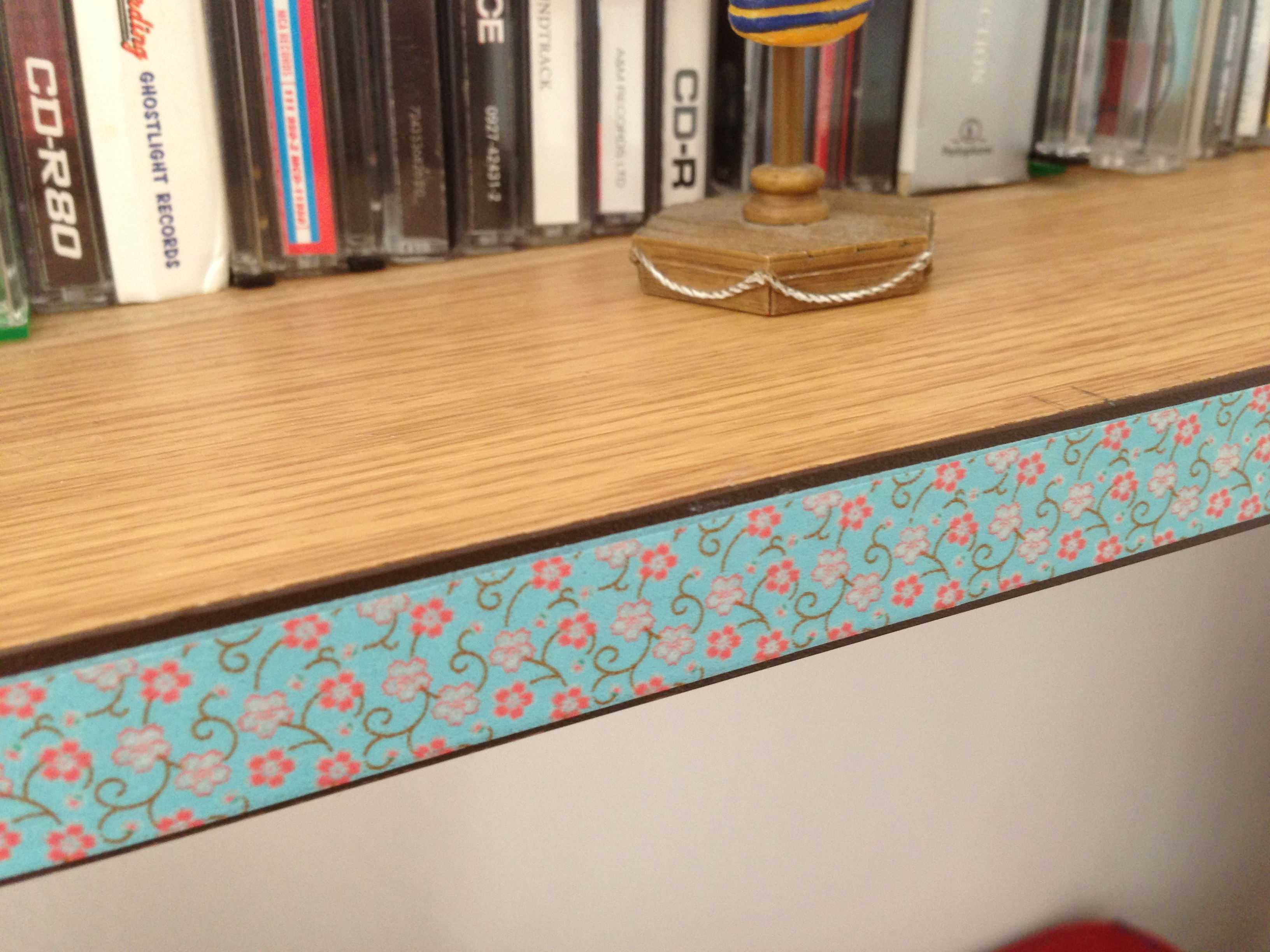 Washi tape upcycling inspiration english rose from for Washi tape project ideas