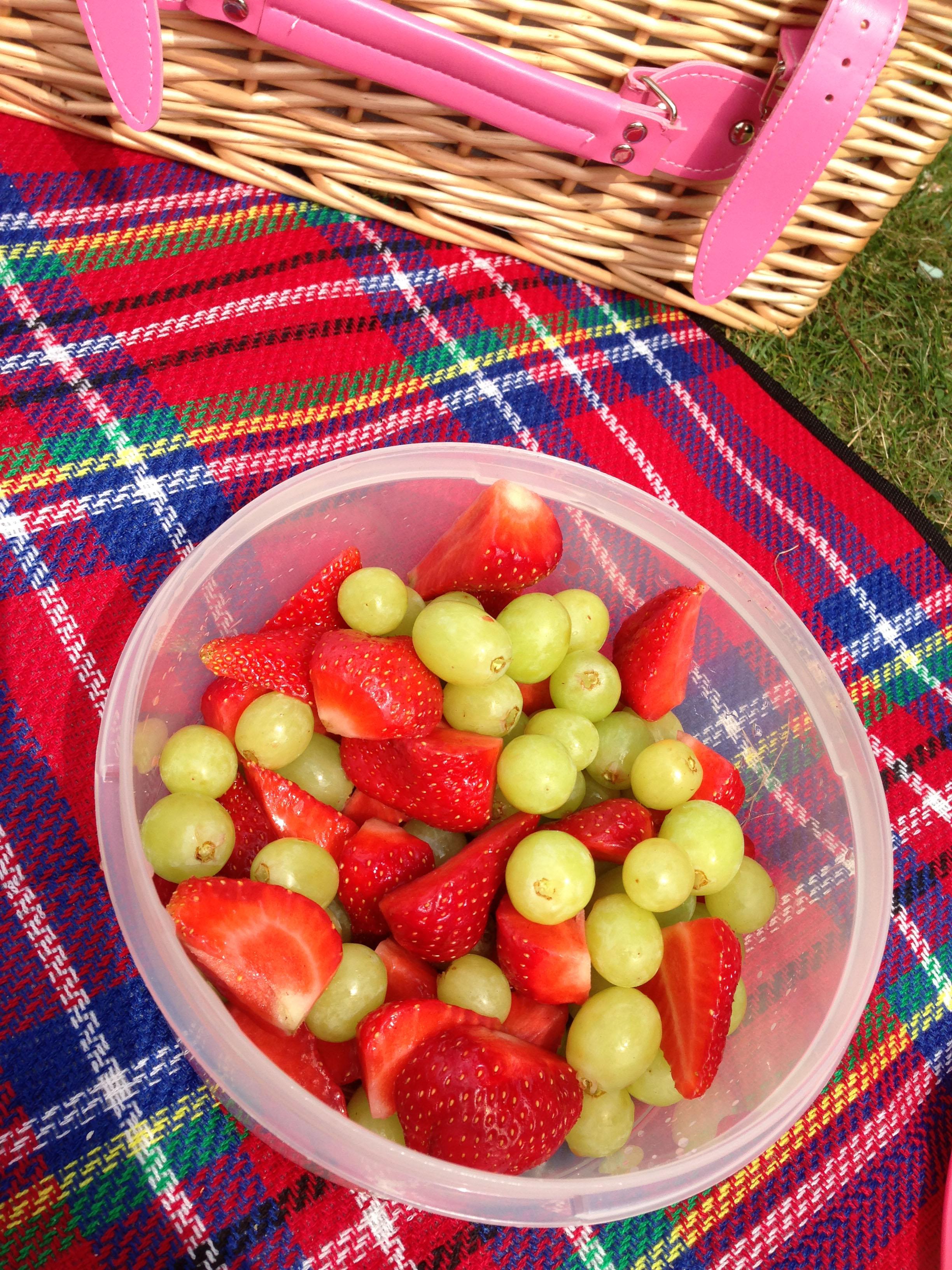 Picnic fruit