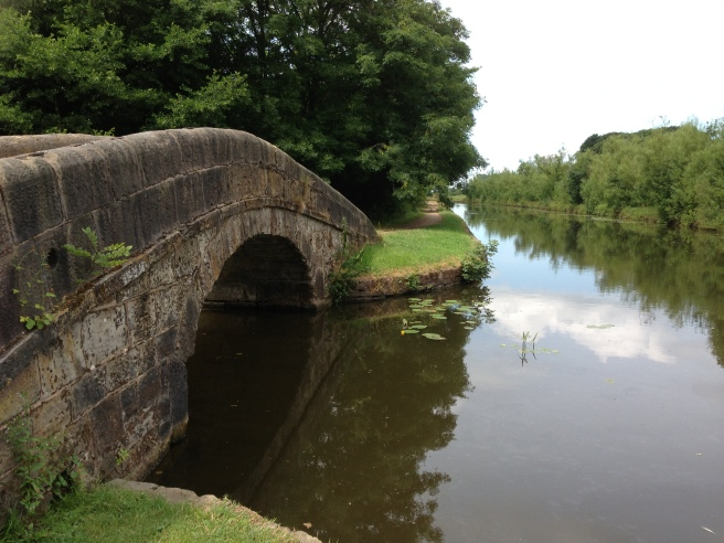 Haigh Hall bridge