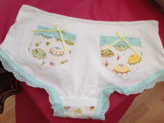 DIY cute knickers