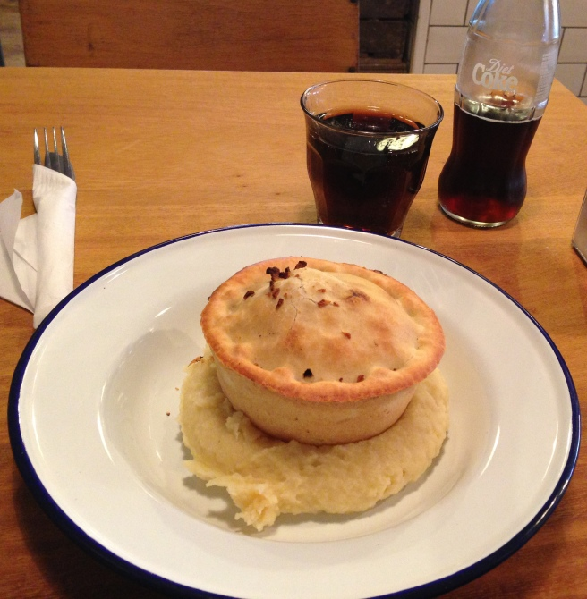 Moo pie and mash