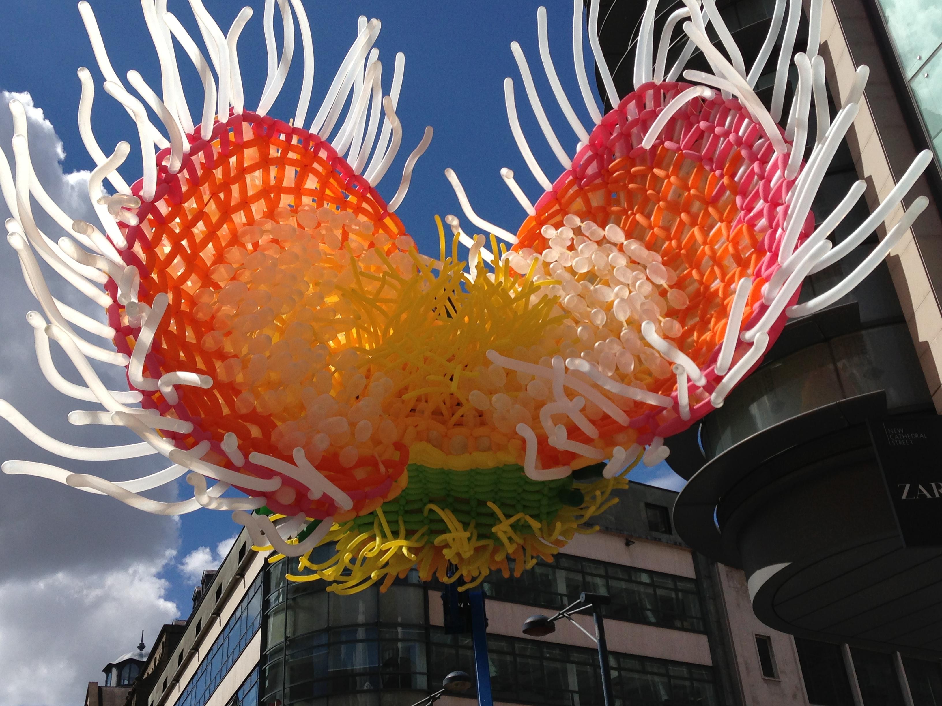 Giant balloon sculpture