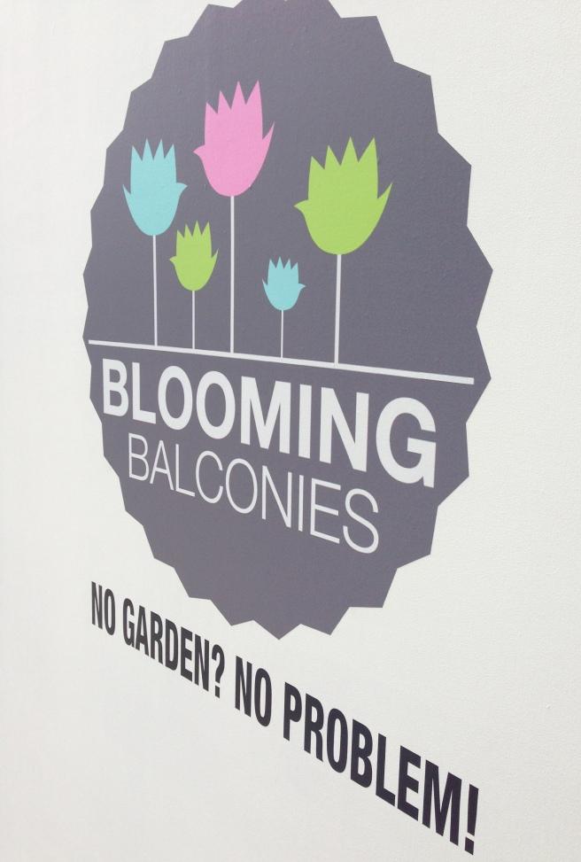 Blooming balconies