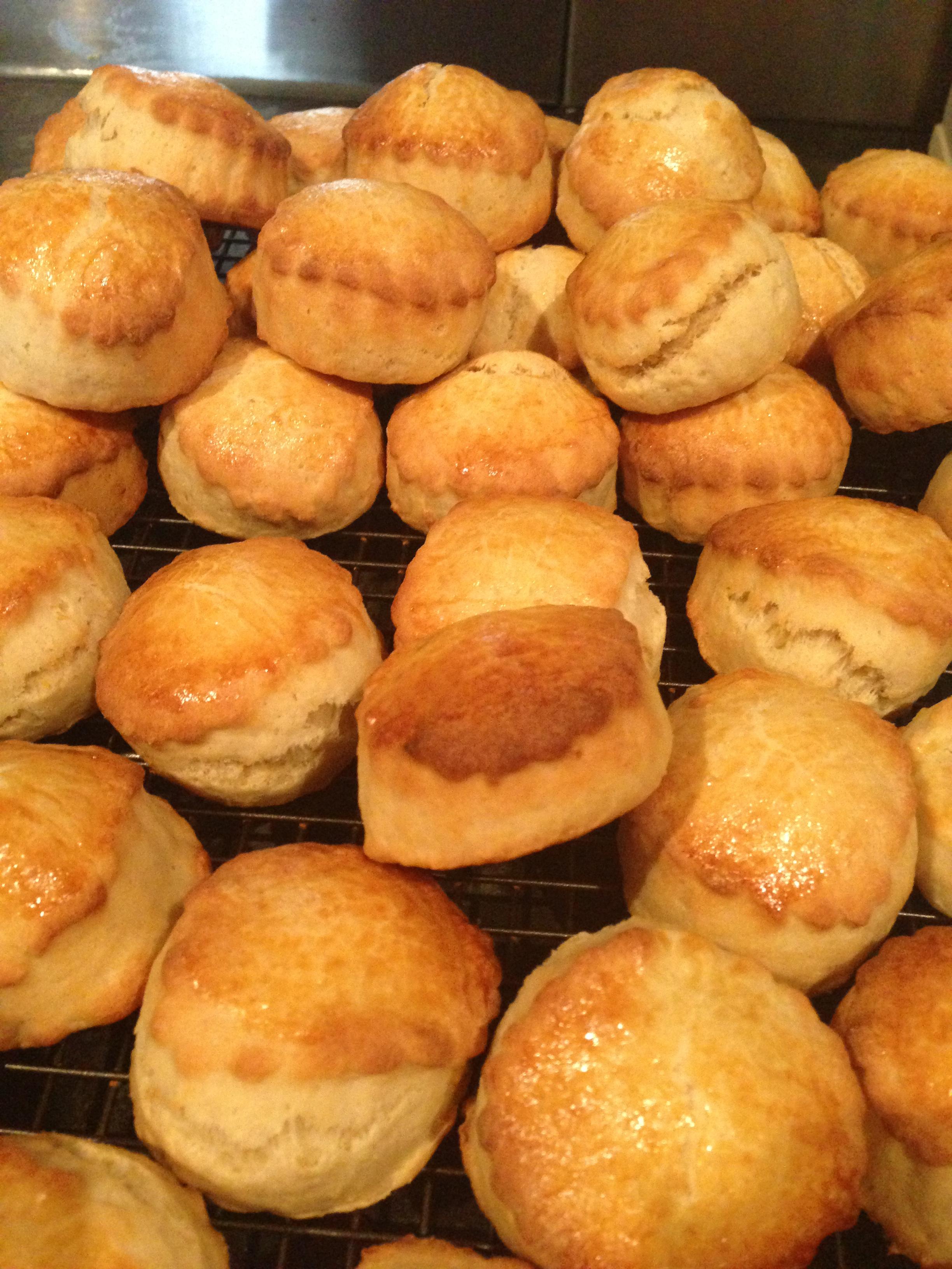 Homemade lemon scones