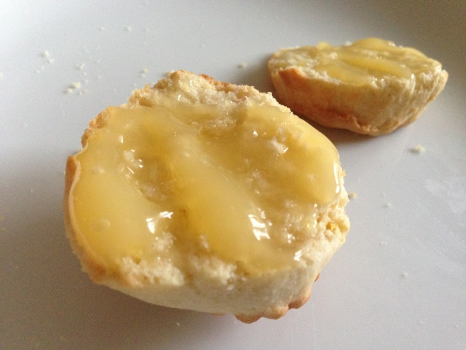 Lemon scone