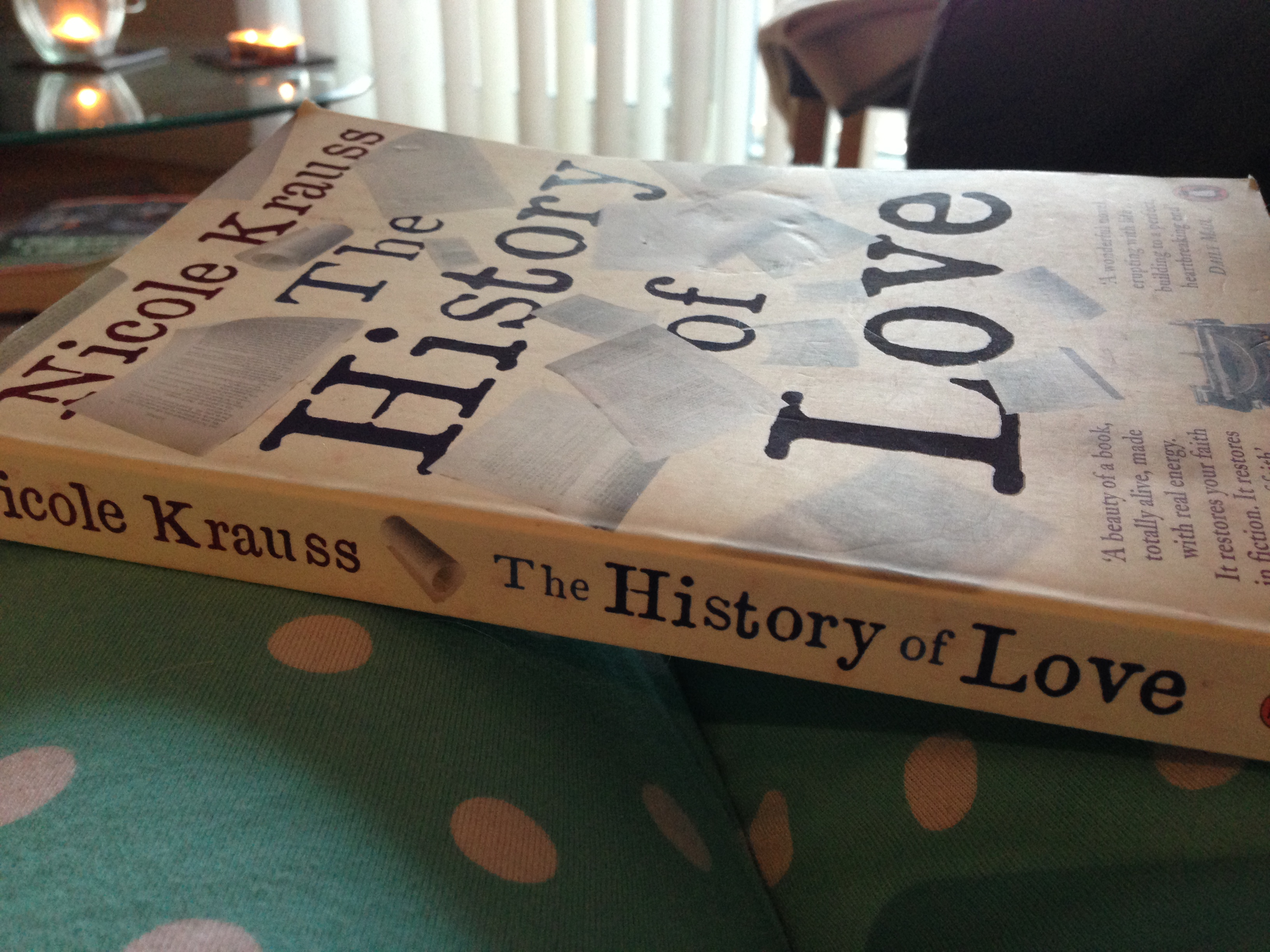 The History of Love book