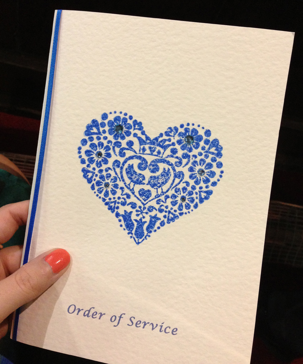 Order of service
