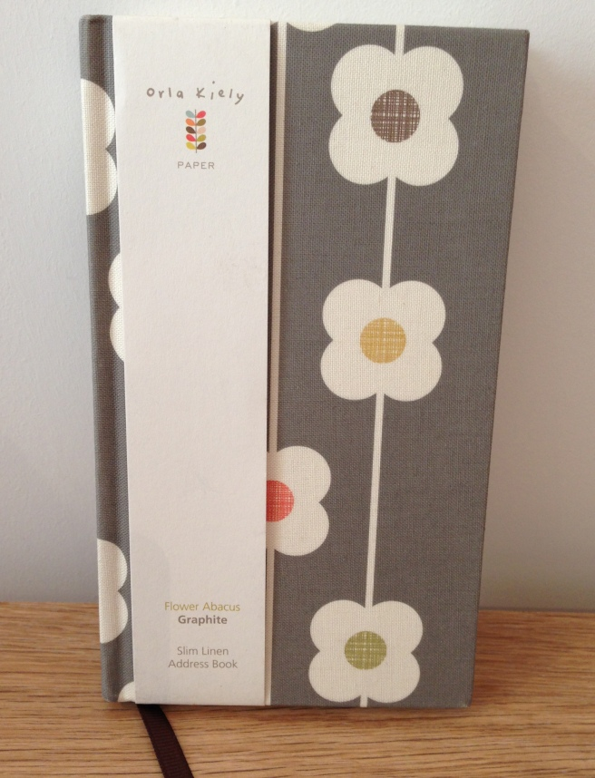 Orla Kiely address book