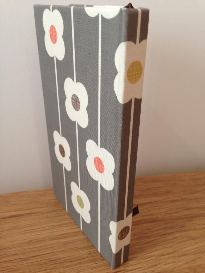 Orla Kiely linen address book