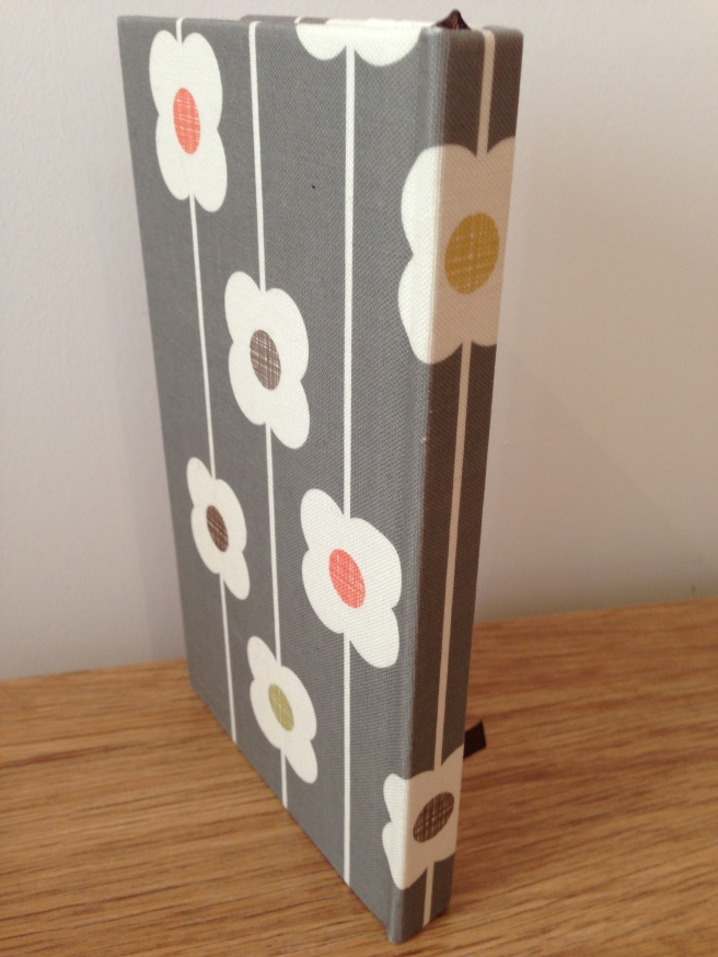 Orla Kiely linen address book