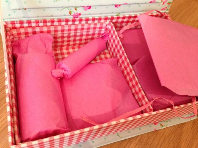Bloggers' summer swap parcel