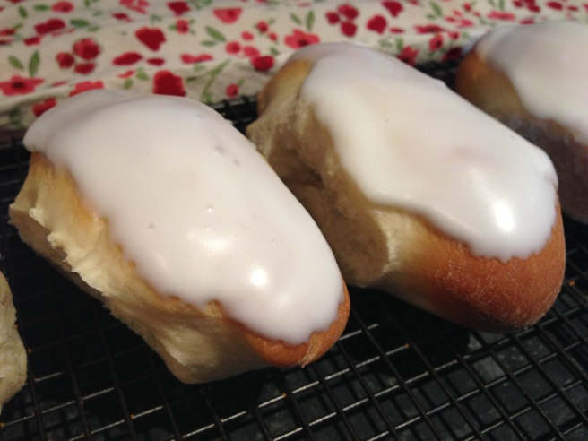 Iced fingers