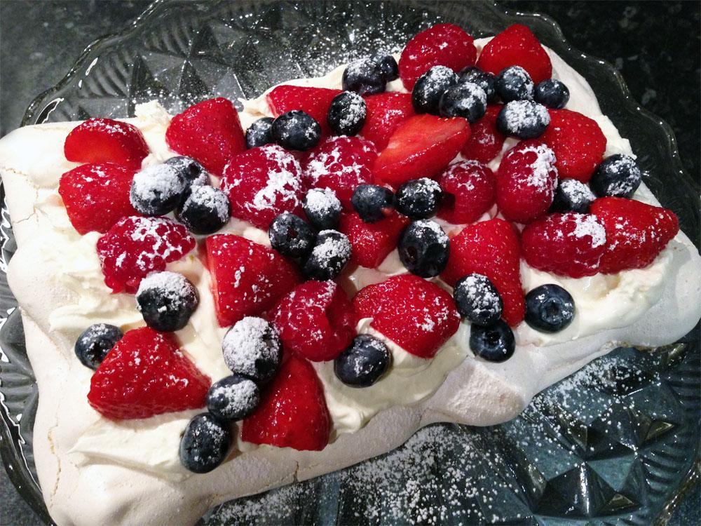 Summer Berry Pavlova Recipe