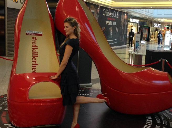 Arndale red killer heels
