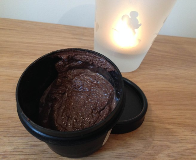 chocolate cupcake face mask