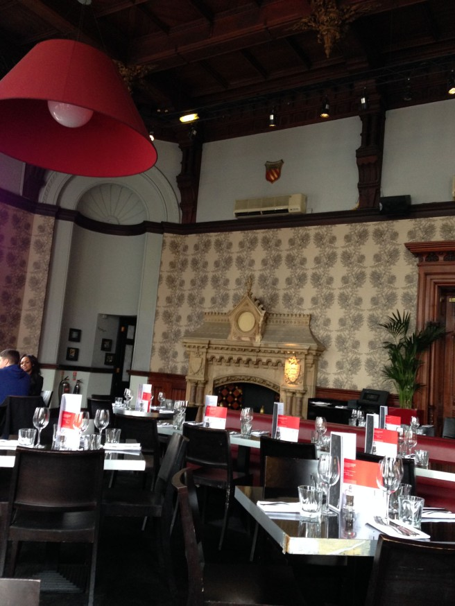 Room restaurant manchester