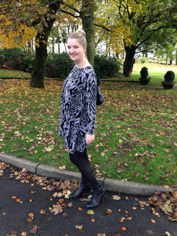 autumn swing dress