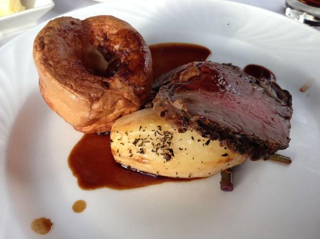 Nutters roast beef
