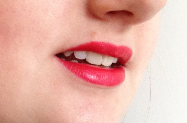 Lush pigmented lipstick