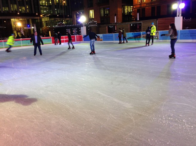 Manchester ice skating