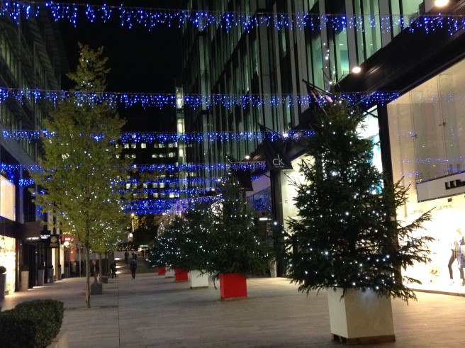 Spinningfields at Christmas